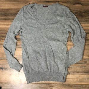Anthropologie Tapemeasure sz XL gray sweater